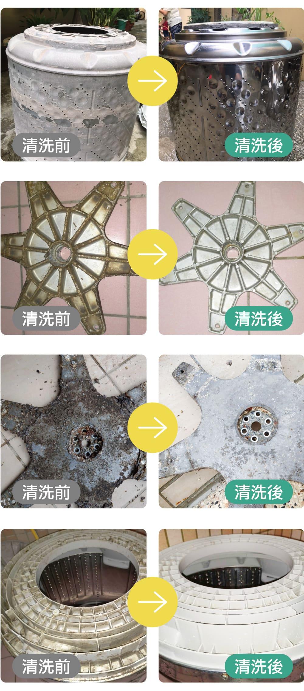 洗衣機潮溼發霉,需定期清洗洗衣機